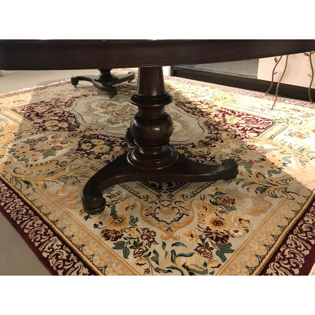 English Vintage Century Furniture Dining Table For Sale - Image 3 of 4