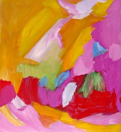Image of Raspberry Pink Paintings