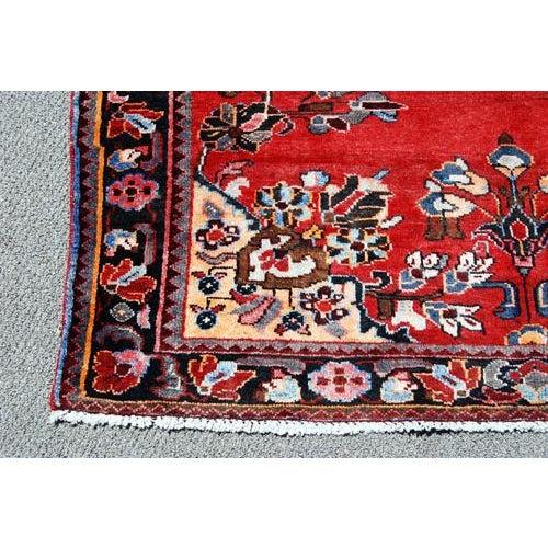 Handmade Persian Lilian Rug - 5″ × 7″ - Image 4 of 5