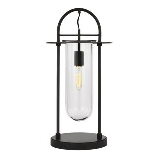 Nuance Table Lamp Aged Iron For Sale