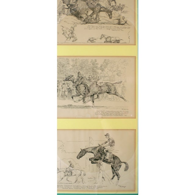 Amazing original trio of drypoint etchings by Paul Desmond Brown (1893-1958) depicting: Grasslands 1930/ Wissahickon Cup...