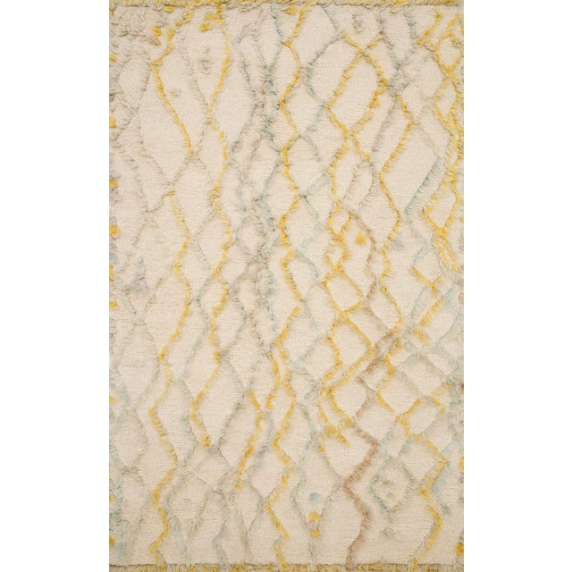 """Contemporary Loloi Rugs Symbology Rug, Ivory / Multi - 2'6""""x7'6"""" For Sale - Image 3 of 3"""
