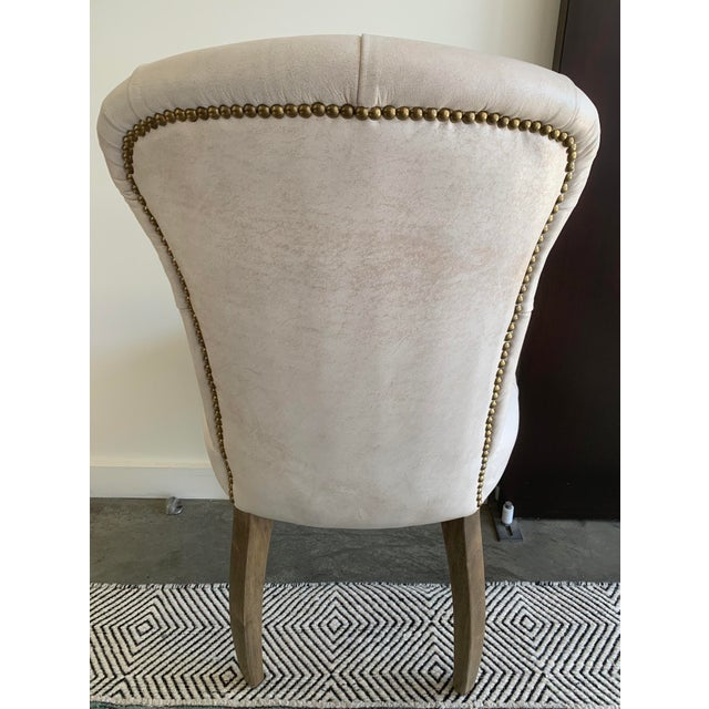 Tan Timothy Oulton's Halo Chester Dining Chairs- A Pair For Sale - Image 8 of 12