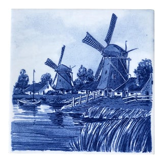 Blauw Delfts Dutch Tile