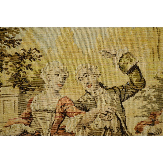 Early Framed Tapestry Wall Art - Image 8 of 11