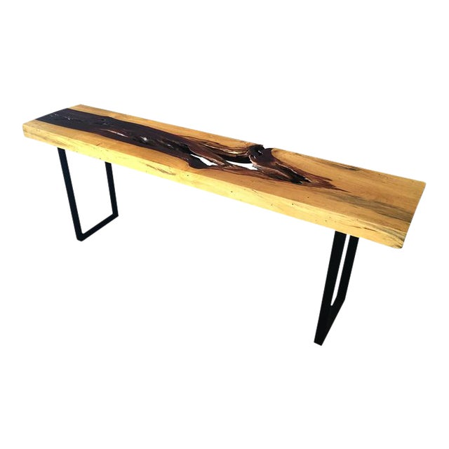 Tamarind Slab Console Table For Sale