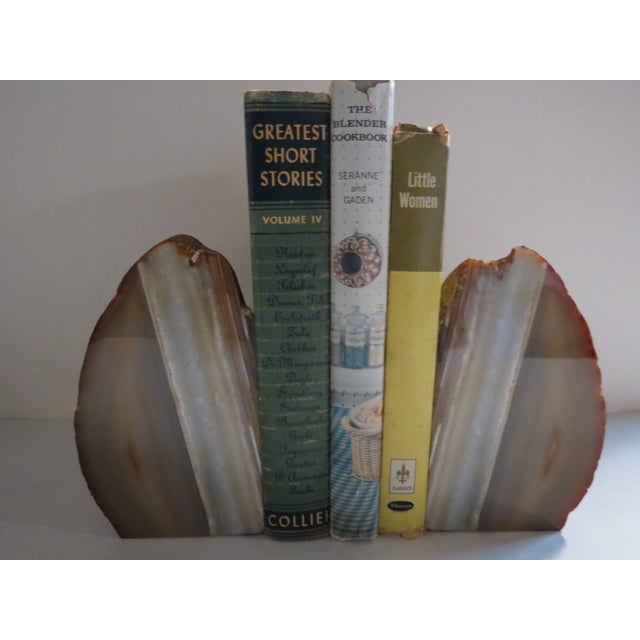 Natural Stone Bookends For Sale - Image 10 of 10