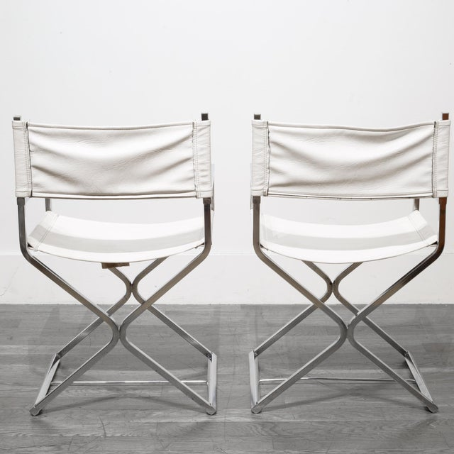 Virtue Mid-Century Robert Kjer Jakobsen for Virtue Brothers Director Chairs C. 1960 For Sale - Image 4 of 7