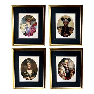 Modern Gucci Illustration Prints- Set of 4 For Sale