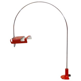 Mid Century Modern Joe Colombo Spider Desk Table Lamp For Sale