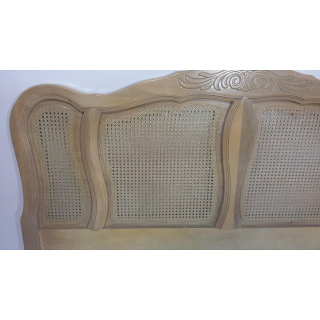 French Provincial Queen Size Headboard - Image 8 of 10