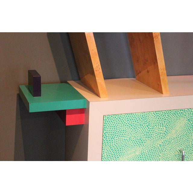 Early Beverly Bookcase by Ettore Sottsass for Memphis, 1981 For Sale In Dallas - Image 6 of 11