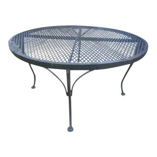 Russell Woodard Mesh Sculptura Side Table