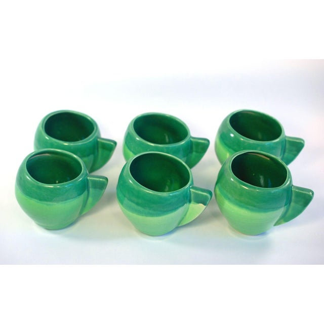 Atomic Green Studio Art Pottery - 11 Pieces - Image 3 of 10