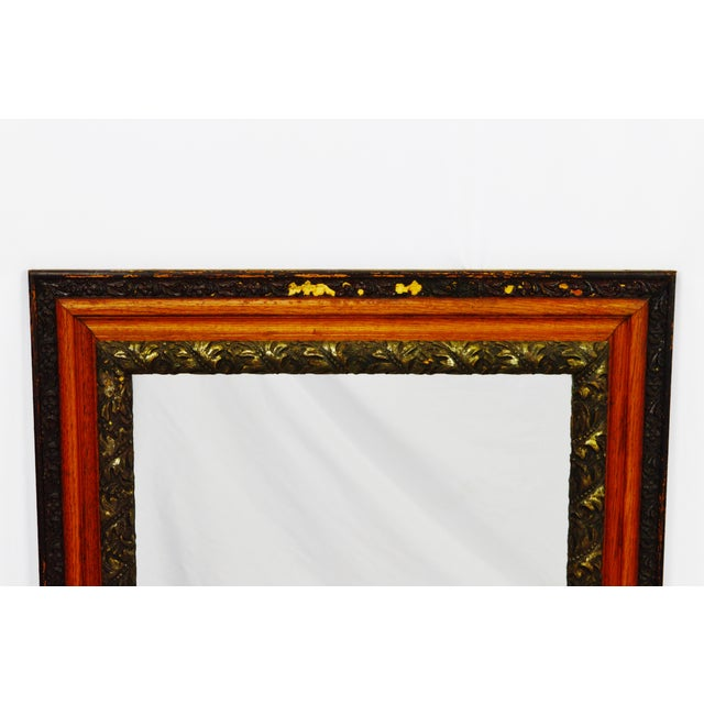 Decorative Wood Gesso Mirror - Image 3 of 11