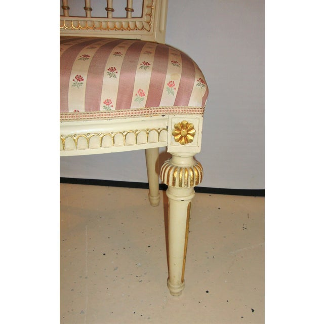 Jansen Style Side Chairs - Pair For Sale - Image 10 of 10