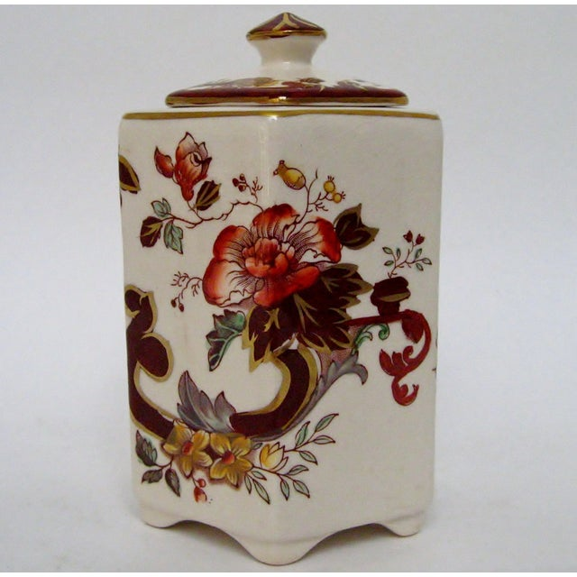 Mid 20th Century Mason's Ironstone Tea Caddy For Sale - Image 5 of 8