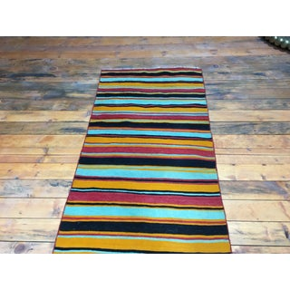 1980s Turkish Striped Kilim Rug Runner - 2′9″ × 9′4″ Preview