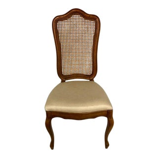 French Cane Back Chair For Sale
