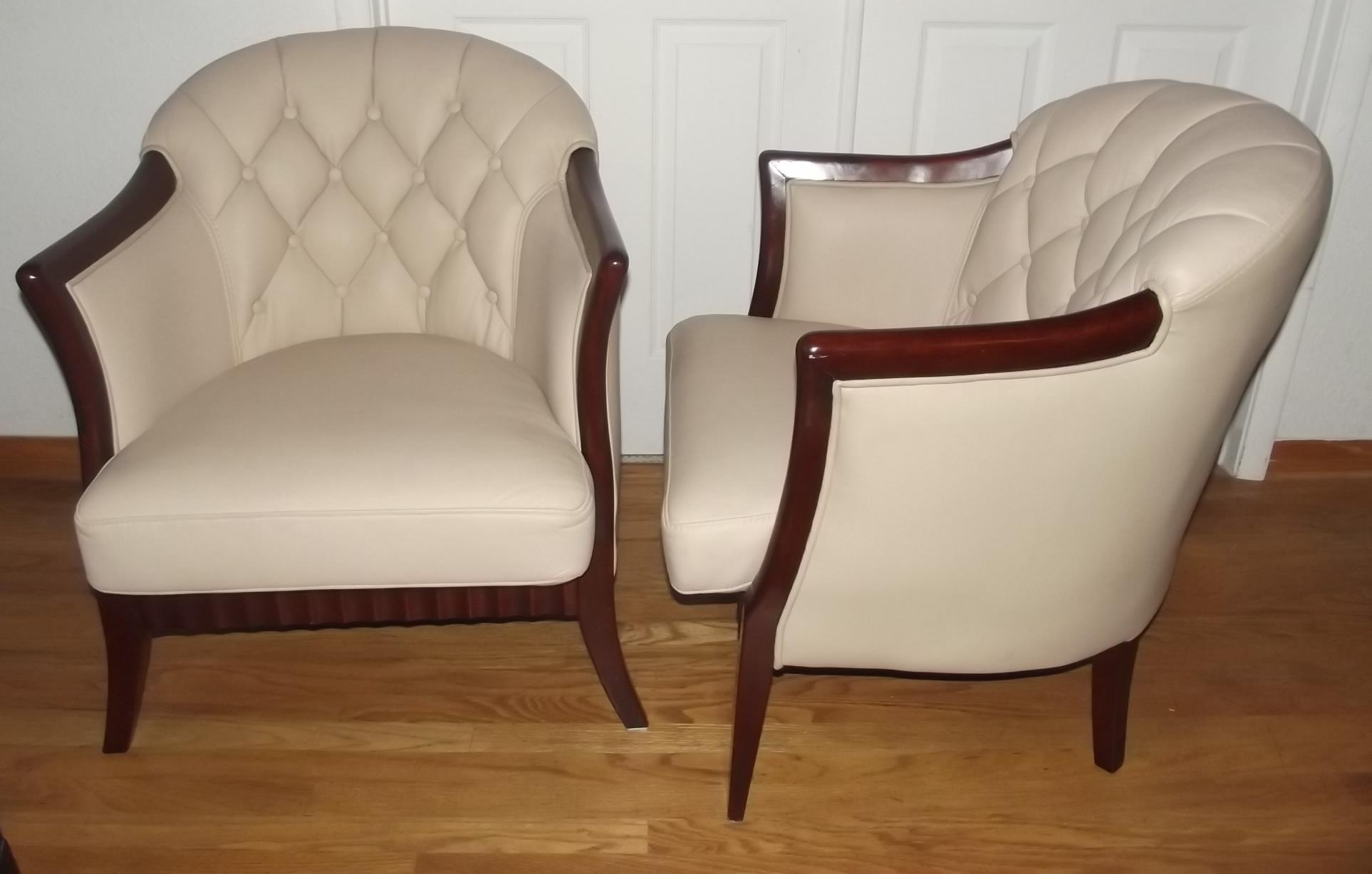 Incredibly Stylish Pair Of Art Deco Club Chairs. These Beautiful Chairs  Have Great Detail And