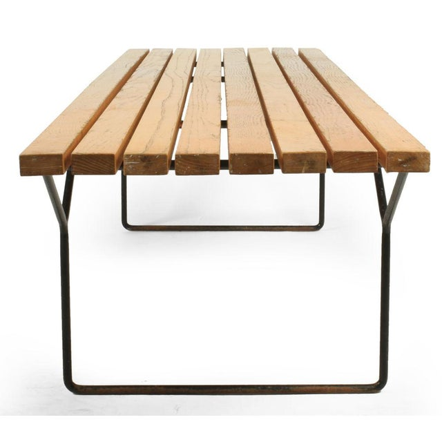 1960s Harry Bertoia for Knoll Slat Bench For Sale - Image 5 of 7