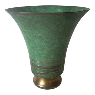 Large Carl Sorensen Neoclassic Copper Cachepot For Sale
