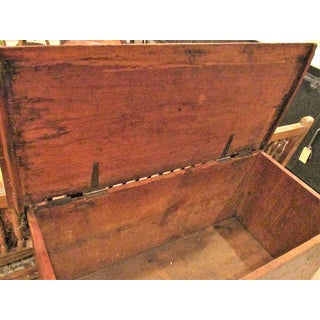 Blanket Chest Trunk Antique C 1800 Preview