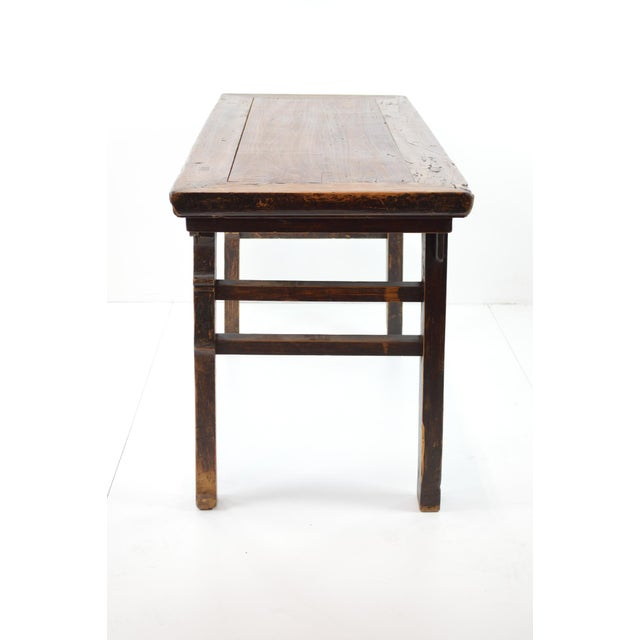 Rustic Antique Chinese Console Table - Image 4 of 10
