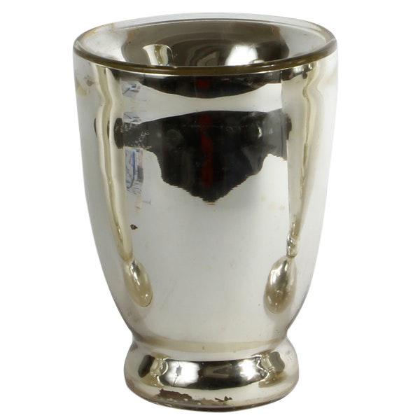 19th C. Mercury Glass Vase For Sale