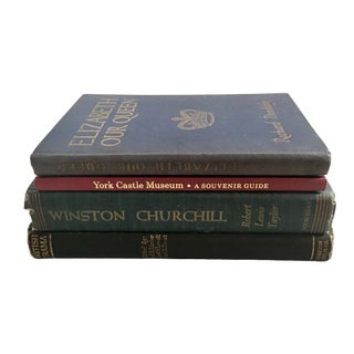 Traditional British Book Selection - Set of 4 For Sale