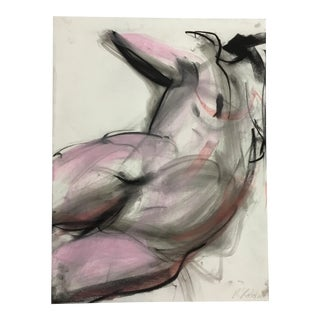Rolando Rosler Abstract Nude #4 For Sale