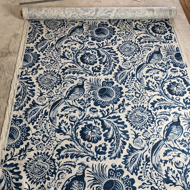 "Clarence House Clarence House ""Delft"" Fabric For Sale - Image 4 of 4"