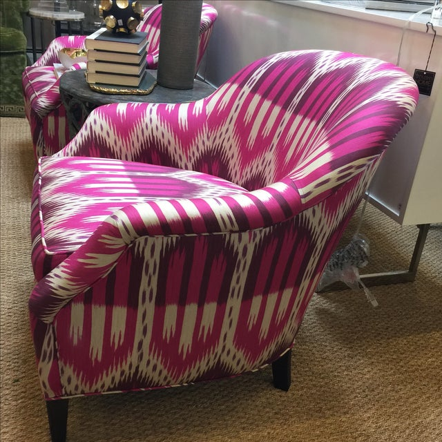 Schumacher Chairs - A Pair - Image 4 of 5