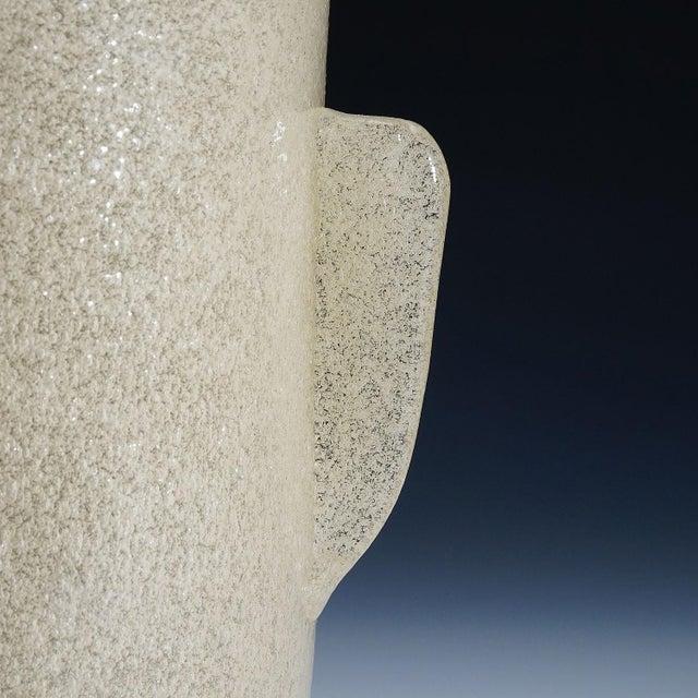 Glass Carlo Scarpa 'A Bollicine' Glass Vase for Venini Ca. 1932 For Sale - Image 7 of 10