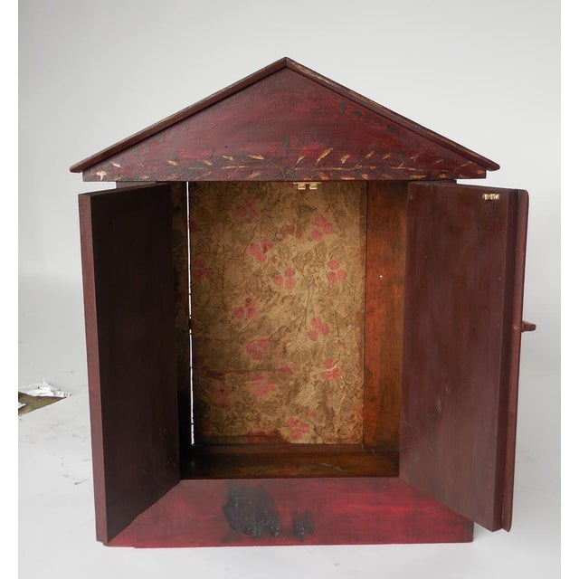 Early 20th Century Escaparate 'Display Box' with Doors For Sale - Image 5 of 8