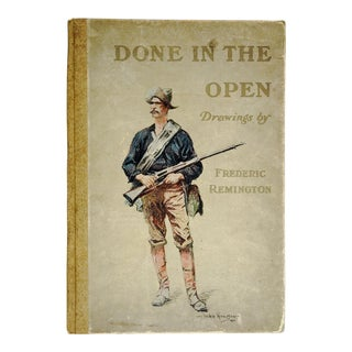 1903 Done in the Open Drawings by Remington