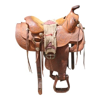 Antique Horse Small Saddle For Sale