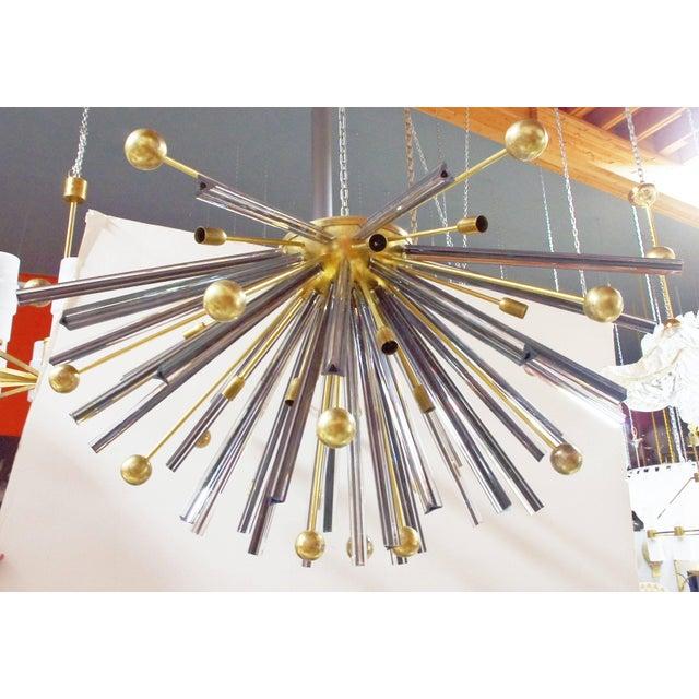 Italian Autunno Sputnik Chandeliers / Flush Mounts by Fabio Ltd (2 Available) For Sale - Image 3 of 11