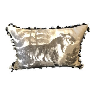 Tiger Pillow by Bonnie and Neil For Sale