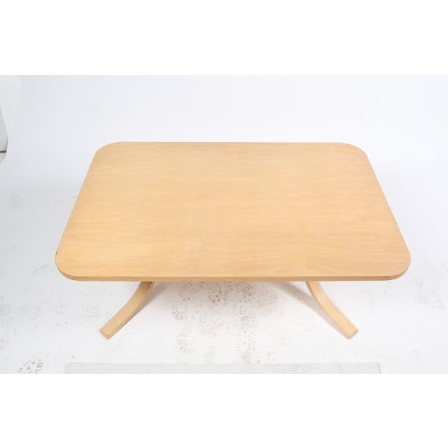 Mid 20th Century Asko Mid-Century Modern-Style Birch Coffee Table For Sale - Image 5 of 11