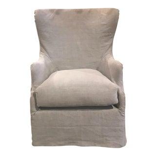 Moss Studios Pierce Swivel Chair For Sale