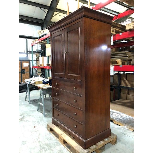 Grange Provance Solid Cherry Wood Armoire | Chairish