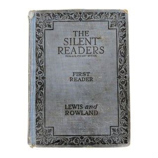 1924 the Silent Readers: A First Reader Book For Sale