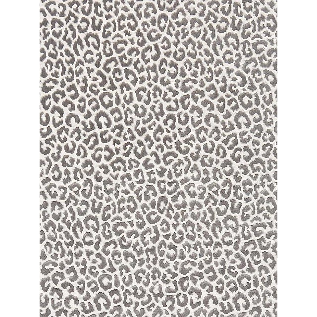 Transitional Scalamandre Panthera Velvet, Smoke Fabric For Sale - Image 3 of 3