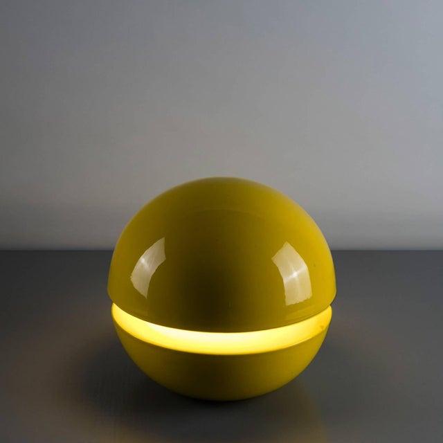 """Gabbianelli """"La Luna"""" Table Lamp by Pagani and Pellegrini for Gabbianelli For Sale - Image 4 of 6"""