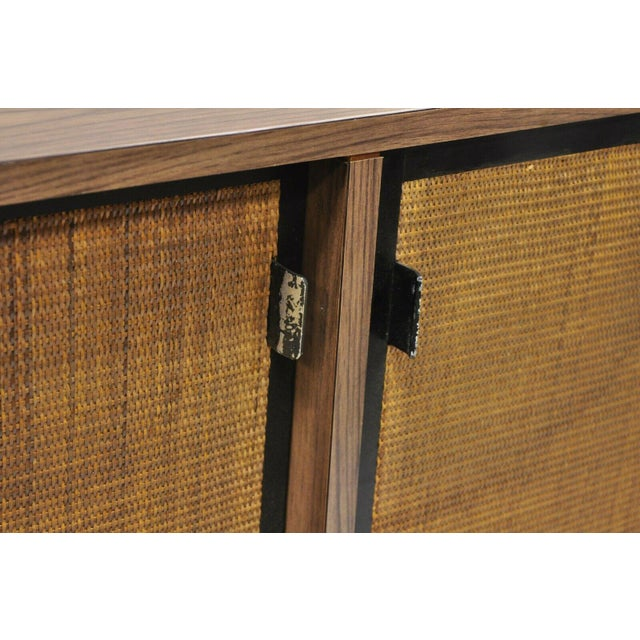 1970s 1970s Mid Century Modern Laminate Formica Case Credenza For Sale - Image 5 of 13