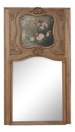 Image of Oil Paint Trumeau Mirrors
