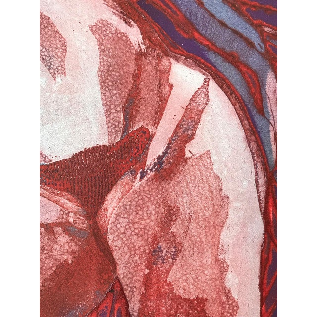 """1960s Vintage Modernist Nude Etching """"Joseph Had a Dream"""" by Ruth Weisberg 1967 For Sale - Image 5 of 9"""