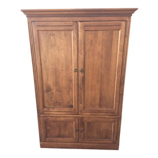 Ethan Allen Tv Armoire Country Crossings For Sale