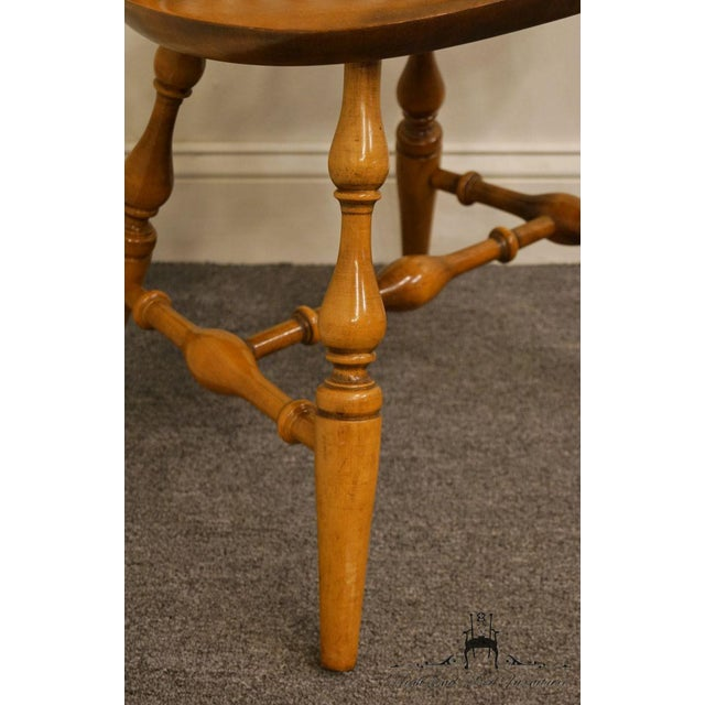 Wood Nichols & Stone Gardener MA Old Pine Side Chair For Sale - Image 7 of 13